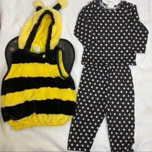 bumble bee costume 6-12 month